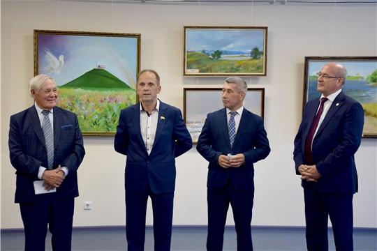 Александр Федотов принял участие в открытии выставки работ Валериана Киргизина