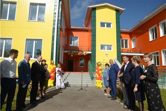 Открытие детского сада «Мечта» в д. Большие Катраси