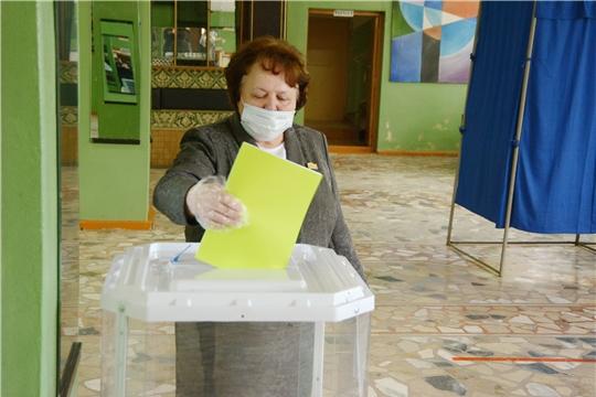 Альбина Егорова приняла участие в выборах Главы республики и депутатов органов местного самоуправления