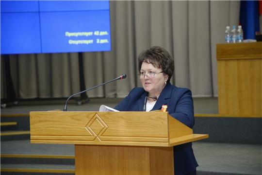В ходе сессии подведены итоги деятельности Госсовета Чувашии с начала года