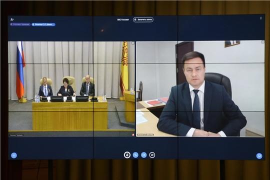 Депутаты обсудили ход реализации в Чувашской Республике нацпроекта «Образование»