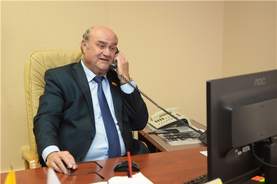 Прием граждан провел Юрий Кислов