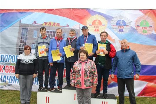 Альбина Егорова приняла участие в «Кроссе Нации» в Чебоксарском районе