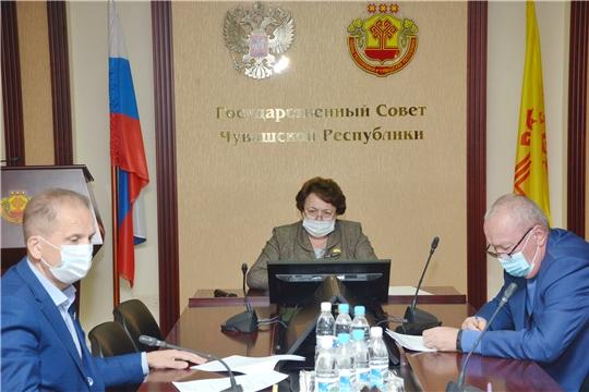 Альбина Егорова провела еженедельное совещание