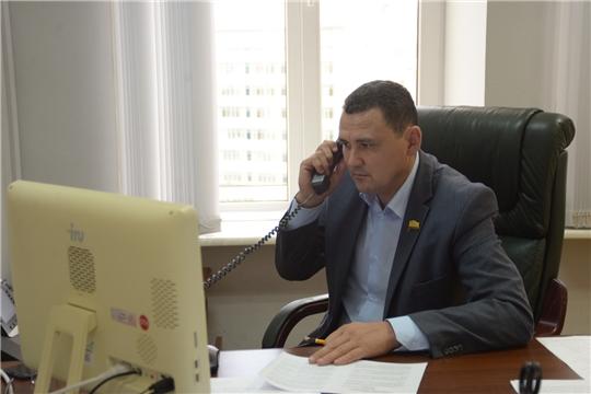 Сергей Павлов провел очередной прием граждан