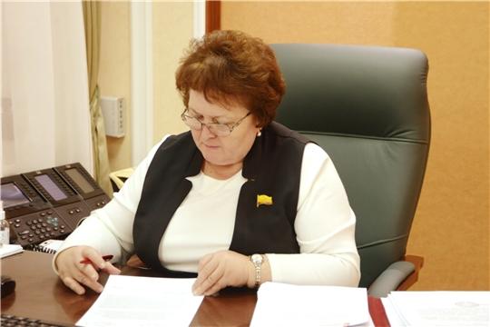 Председатель Госсовета Альбина Егорова рассмотрела обращения граждан