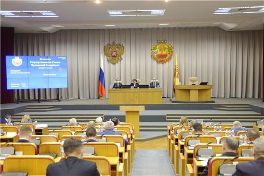 Состоялся I этап очередной 46 сессии парламента республики