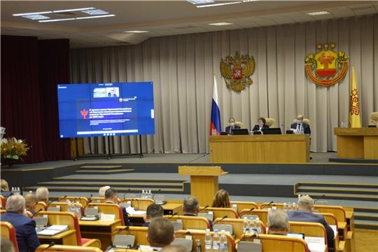 Парламент принял закон о Стратегии социально-экономического развития Чувашской Республики до 2035 года
