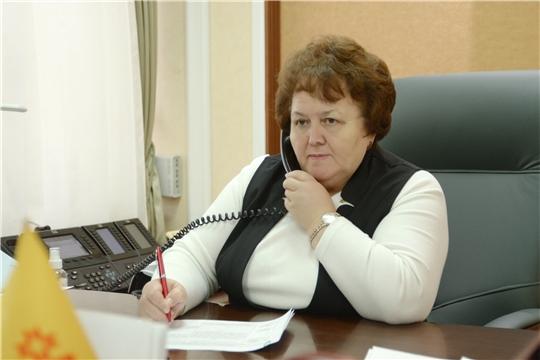 Председатель Госсовета Чувашии Альбина Егорова провела прием граждан