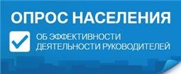 Интернет-опрос: оценка эффективности деятельности органов местного самоуправления