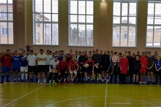 Рождественский благотворительный турнир города Шумерля по футзалу среди любительских команд