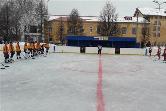 Первый домашний хоккейный матч провел ХК «Шумерля»
