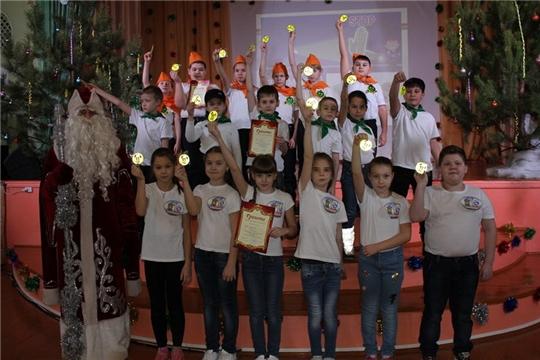 В городе Шумерля прошел фестиваль среди младших школьников «Юный пешеход»