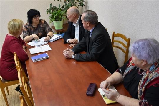 Общественный совет города Шумерля поддержал проект благоустройства площади им. А.Т. Речнова