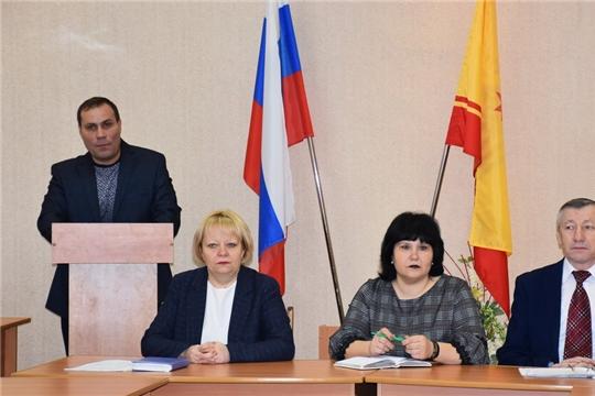 Комиссия по чрезвычайным ситуациям и обеспечению пожарной безопасности города Шумерля подвела итоги