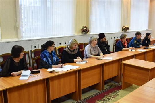 Комиссия по делам несовершеннолетних и защите их прав при администрации города Шумерля подвела итоги деятельности за 2019 год