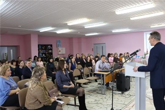 Методисты Центра детского творчества города Шумерля - участники республиканского семинара по обновлению содержания программ дополнительного образования детей