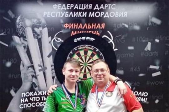 Шумерлинец Сергей Легошин стал победителем Чемпионата ПФО по дартс