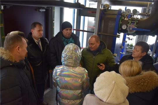 Рабочая поездка по вопросу модернизации тепловых сетей в Шумерле