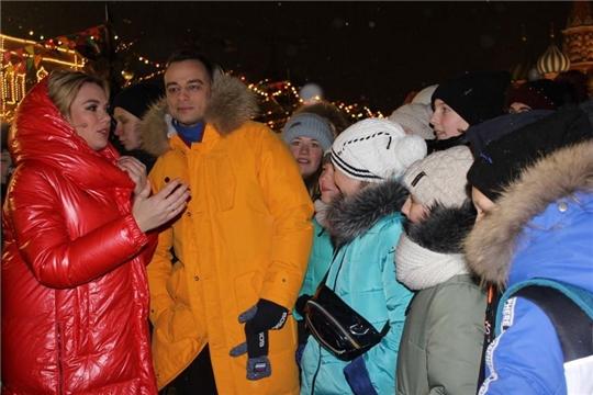Экскурсия юных шумерлинцев в Москву
