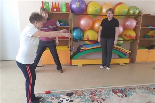 Сдача нормативов ГТО коллетивом детского сада «Рябинушка»