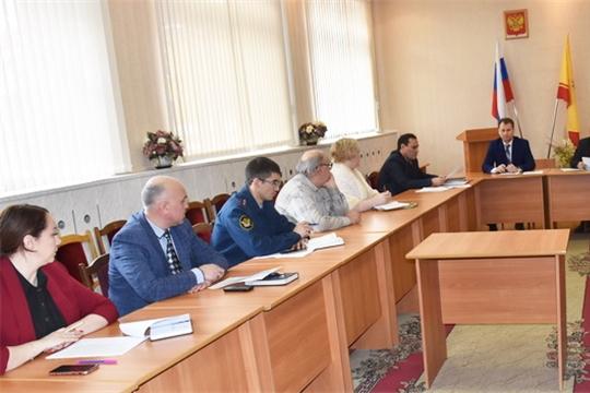 С заседания комиссии по профилактике правонарушений в городе Шумерля