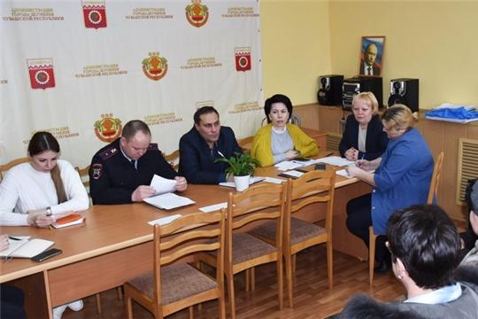 Состоялось заседание межведомственной комиссии по повышению безопасности дорожного движения в городе Шумерля