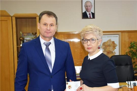 Заслуженные знаки Комплекса ГТО получили работники администрации города Шумерля