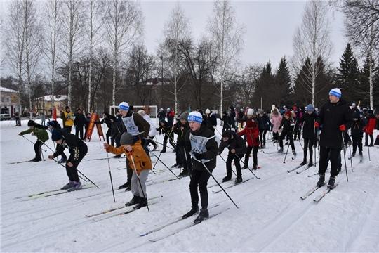 Всероссийская массовая лыжная гонка «Лыжня России - 2020»