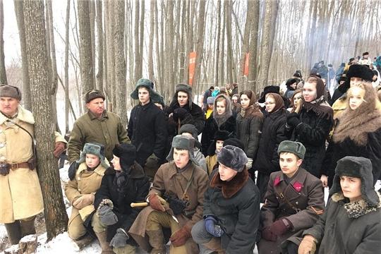 Шумерлинцы приняли участие в военно-исторической реконструкции Сурского оборонительного рубежа в Мордовии