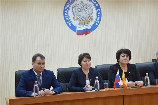 Представление нового руководителя Межрайонной инспекции Федеральной налоговой службы №8 по Чувашской Республике