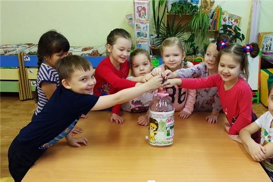 Акция «Сбор использованных батареек» в детском саду №16 «Рябинушка»