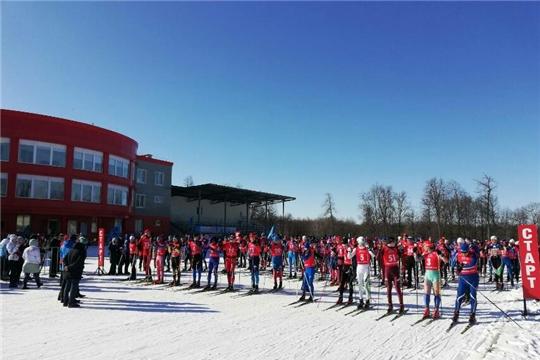 Успехи шумерлинских лыжников в марафоне