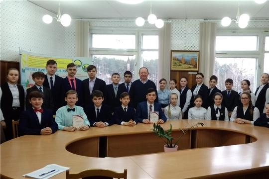 Проект «Классные встречи» гимназисты Шумерли посвятили Всемирному дню прав потребителя
