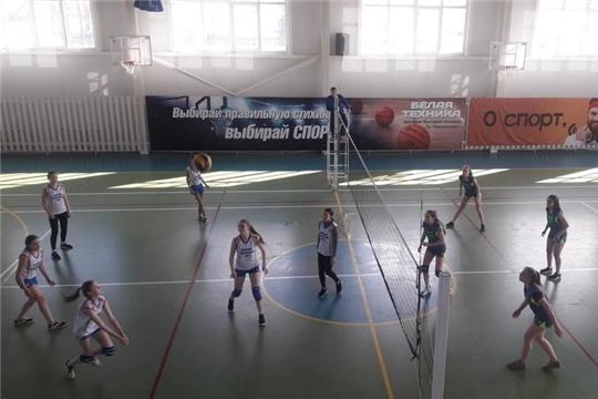 Шумерлинцы состязались в отборочном этапе Чемпионата Школьной волейбольной лиги
