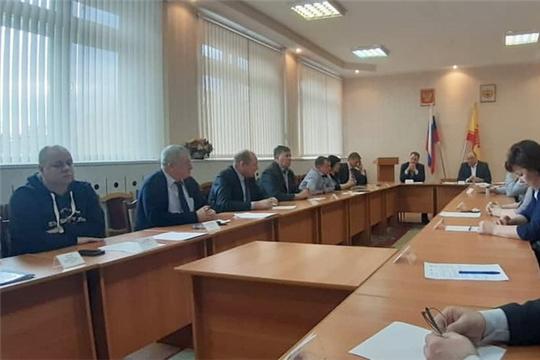 Cостоялось внеочередное заседание Собрания депутатов города Шумерля