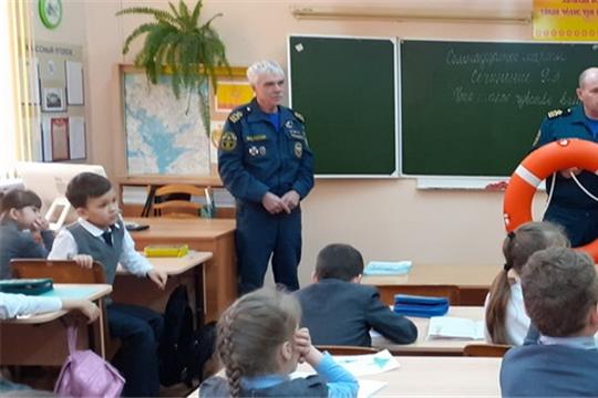 Шумерлинским школьникам напомнили о безопасности на водных объектах