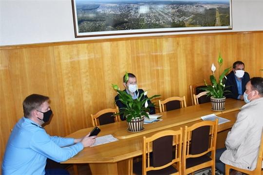 Состоялось очередное заседание рабочей группы при оперативном штабе по предупреждению завоза и распространения новой коронавирусной инфекции на территории города Шумерля