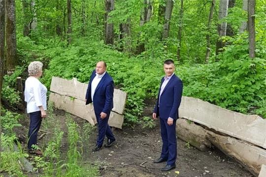 Проект по реконструкции шумерлинского отрезка Сурского оборонительного рубежа представлен делегации из города Чебоксары