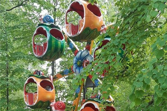 В парке культуры и отдыха города Шумерля проведено ежегодное техническое освидетельствование аттракционной техники