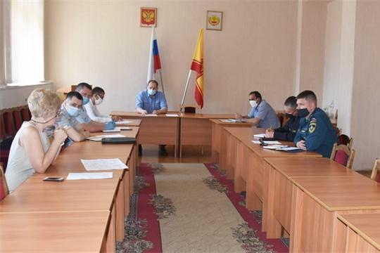 На антитеррористической комиссии города Шумерля обсуждены вопросы обеспечения безопасности в период проведения голосования и летней оздоровительной кампании