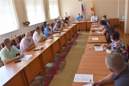 Состоялось внеочередное заседание Собрания депутатов города Шумерля