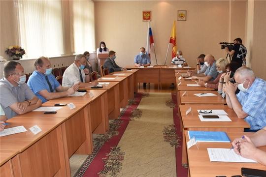 С заседания Собрания депутатов города Шумерля