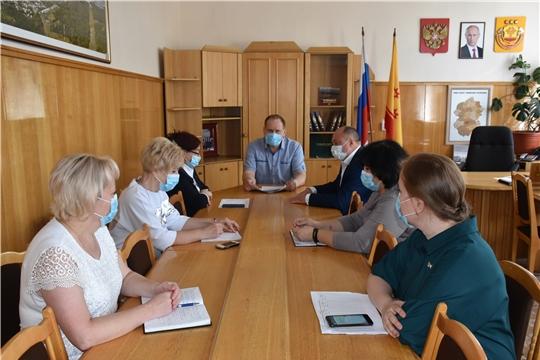 В администрации города Шумерля прошло совещание по вопросам проведения Общероссийского голосования по поправкам в Конституцию