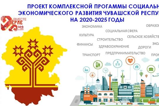 Предлагаем ознакомиться с проектом Комплексной программы социально-экономического развития Чувашской Республики на 2020-2025 годы