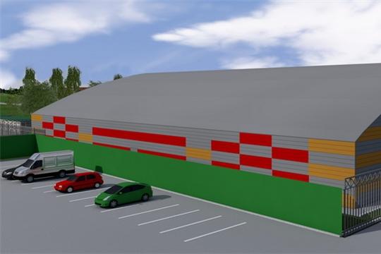 24 июля состоятся публичные обсуждения по проектированию и строительству в городе Шумерля  крытого футбольного манежа
