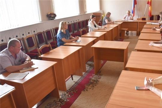 Состоялось очередное заседание административной комиссии
