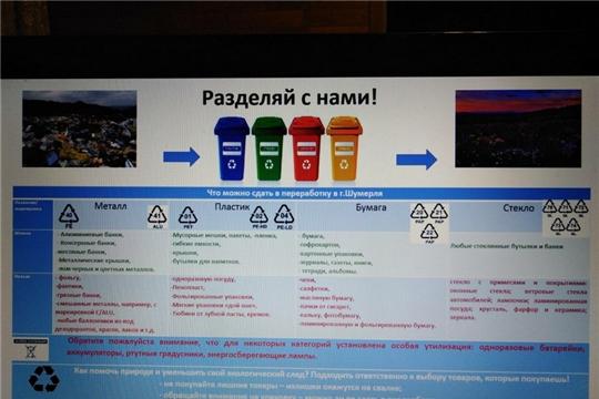 Юный шумерлинец разработал проект по раздельному сбору мусора и приступил к его реализации