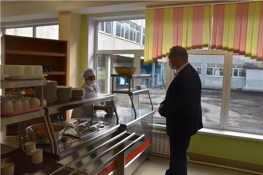 14 сентября МБОУ «СОШ №6» г.Шумерля возобновила работу для учеников 5-11 классов