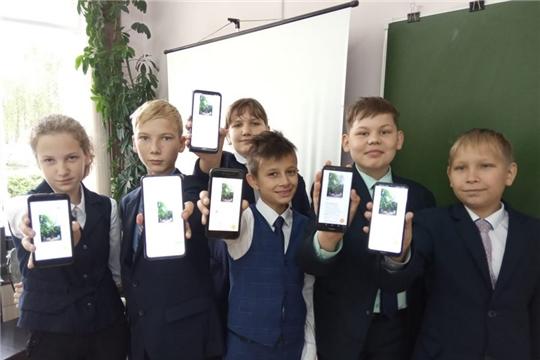 Обучающиеся, родители и педагоги гимназии голосуют за Главное дерево страны